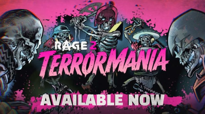 Rage 2 terrormania trailer